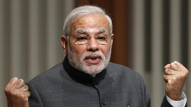 Decades-old demands by farmers that political parties at various times had promised would be fulfilled are now being met with Parliament having passed the three farm laws after rigorous brainstorming, Modi said.(REUTERS)