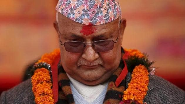 Nepal's Prime Minister Khadga Prasad Sharma Oli, also known as KP Oli, has told New Delhi that Kathmandu wants to improve relations with India and wants discussions on the boundary issue to start(Reuters)