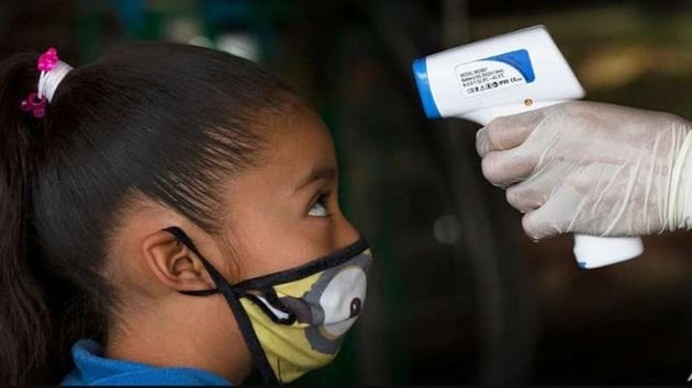 According to a study, more than one-third of kids infected with the novel coronavirus are asymptomatic.(AP)