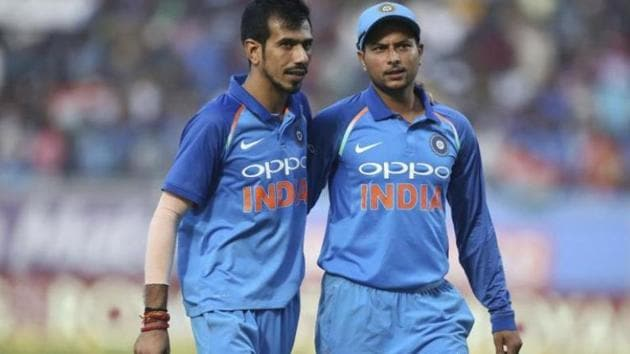 File image of Kuldeep Yadav and Yuzvendra Chahal.(File)