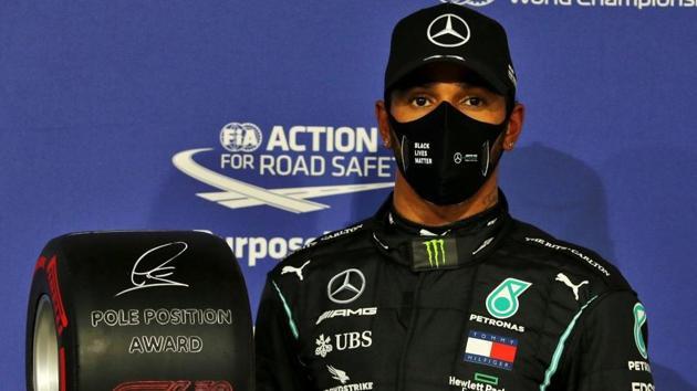 Photo of Lewis Hamilton(Twitter)