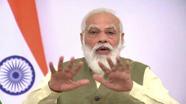 "His announcement came hours after Modi termed the contentious farm laws ""historic"", and reiterated that his government at the Centre was committed to increasing farmers' incomes.(File Photo)"