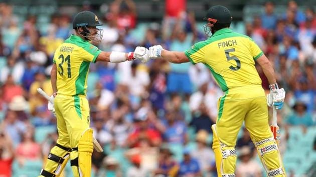 File photo of David Warner and Aaron Finch(Twitter)