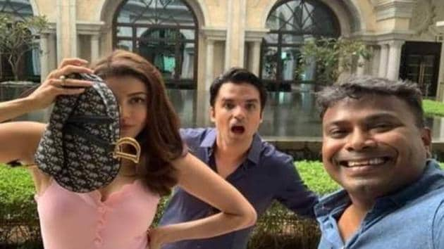 Kajal Aggarwal and Deekay worked together in a film called Kavalai Vendam.