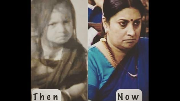 The image was shared by Union minister Smriti Irani.(Instagram/@smritiiraniofficial)