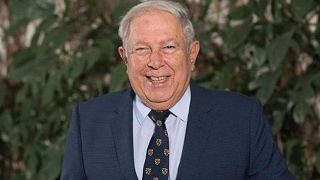 A supplied photo of Indian scientist Yusuf Hamied.(University of Cambridge)