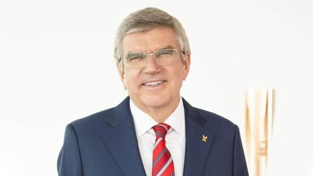 Photo of Thomas Bach(Twitter)