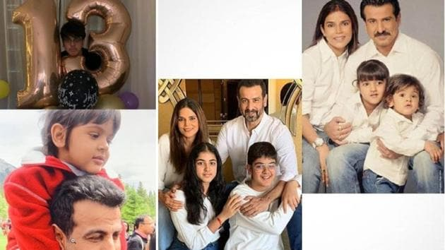 Ronit Roy and his wife Neelam have two children.
