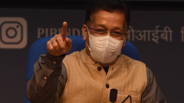Health Secretary Rajesh Bhushan said that all subjects sign a consent form before the trials that detail all the possible adverse effects of the vaccine inoculation.(HT Photo)