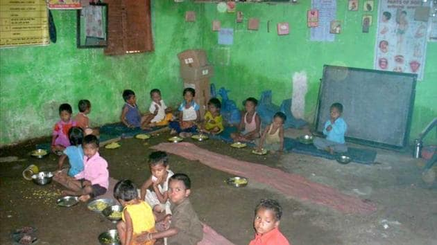 Some anganwadi workers said the number of beneficiaries nearly doubled in the past few months.(FILE PHOTO)