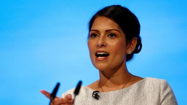 UK Home Secretary Priti Patel said that the government has delivered on the promise to introduce points-based visa system.(REUTERS)