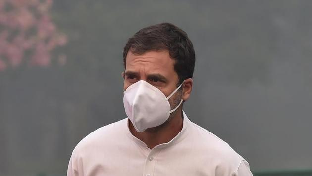 Congress leader Rahul Gandhi.(File photo)