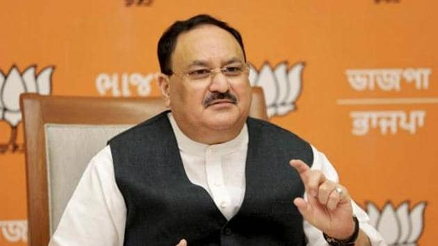 BJP national president JP Nadda.(File photo)