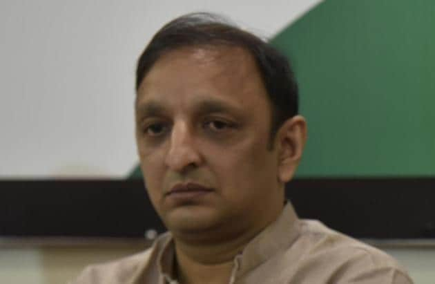 Maharashtra Congress's general secretary and spokesperson Sachin Sawant.(HT File)