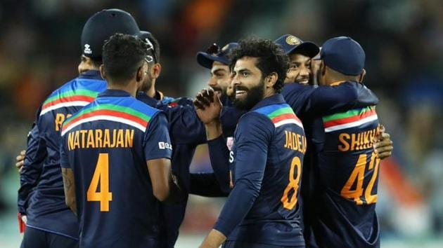 India beat Australia by 13 runs in the 3rd ODI in Canberra(Twitter)