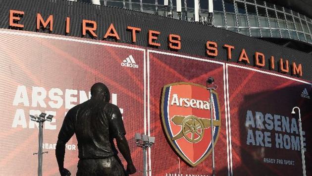 Photo of Emirates stadium in Highbury, England(Arsenal/Twitter)