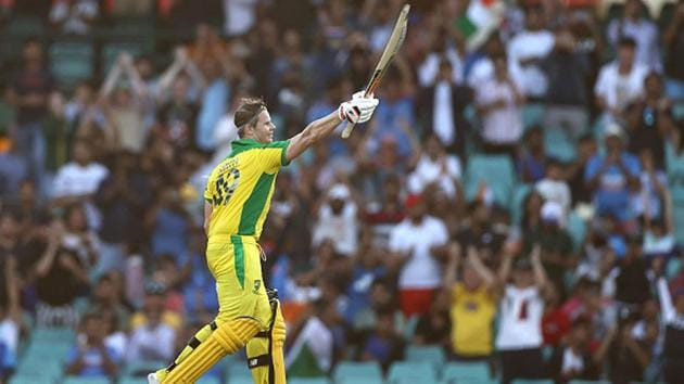 Steve Smith has scored back to back centuries in the ODI series so far.(Getty Images)