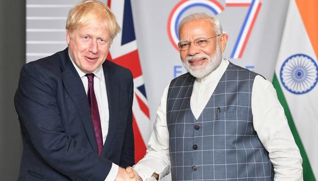 Prime Minister Narendra Modi has invited British Prime Minister Boris Johnson to be chief guest at the Republic Day celebrations in January 2021(Photo courtesy: PIB)