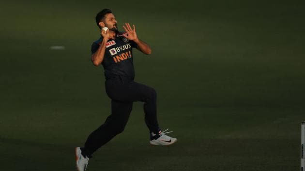 Photo of Indian pacer Shardul Thakur(BCCI/Twitter)