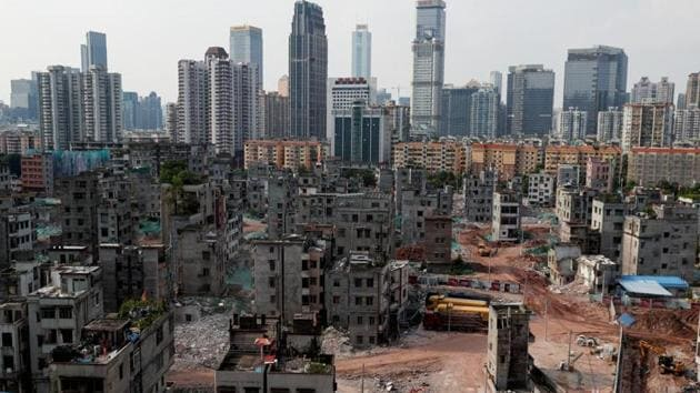 Rents in Beijing in November slumped 7.61% from a year earlier, extending October's 3.4% drop, while the southern boomtown of Guangzhou saw a 1.05% decline, its first since January.(Reuters file photo. Representative image)