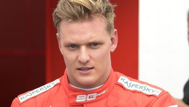 Germany's Mick Schumacher, son of Formula 1 legend Michael Schumacher.(AP)
