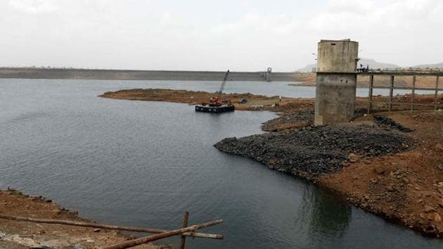 Bhama Askhed dam near Khed in Pune, India.(HT FILE PHOTO)