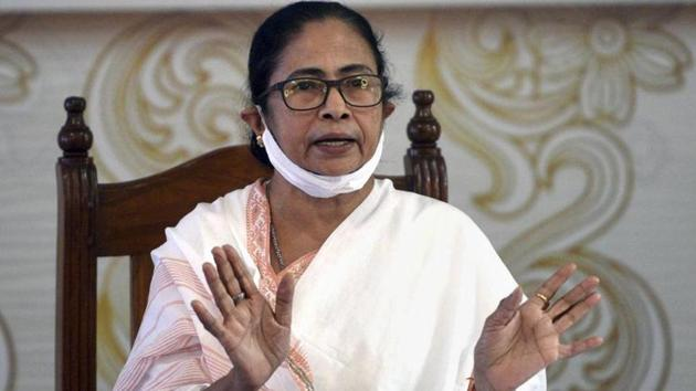 West Bengal chief minister Mamata Banerjee's virtual address at the Oxford Union debate has been postponed.(PTI Photo)