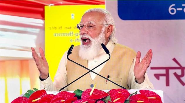 Prime Minister Narendra Modi spoke to Pinarayi Vijayan and E Palaniswami on Wednesday as Kerala and Tamil Nadu prepare to face Cyclone Burevi.(PTI)