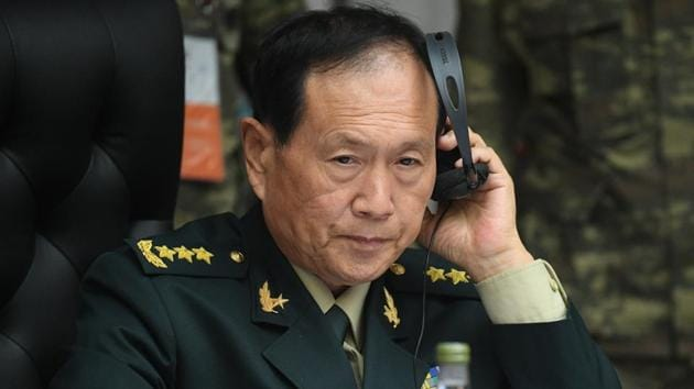 China's Minister of National Defence Wei Fenghe.(File photo)