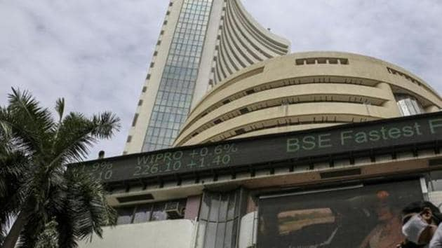 Tech Mahindra was the biggest loser among 30 Sensex stocks, dropping by 0.74 per cent.(Bloomberg)