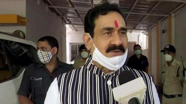 Madhya Pradesh Home Minister Narottam Mishra said farmers are intelligent enough to identify disruptive elements.(ANI FILE PHOTO)