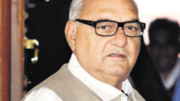 Haryana former chief minister Bhupinder Singh Hooda(Photo: Hindustan Times)