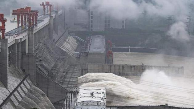 """Earlier this week, Chinese state media had reported that Beijing will build a """"super"""" dam on the lower reaches of the Yarlung Zangbo river.(AP file photo)"""
