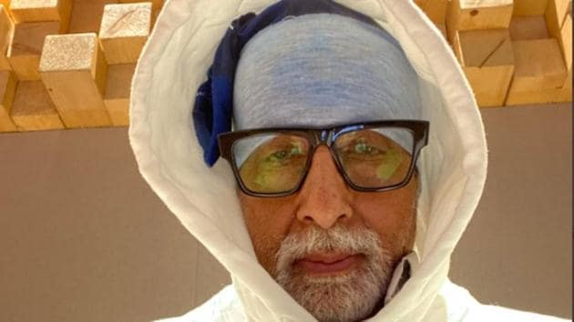 Amitabh Bachchan joked that he is channelling the Yeti with his look.