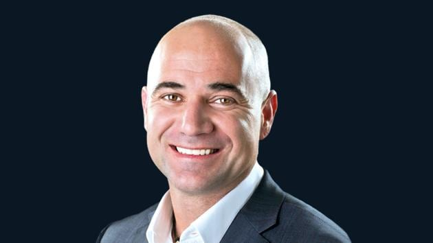 Former tennis great Andre Agassi.(HT Photo)