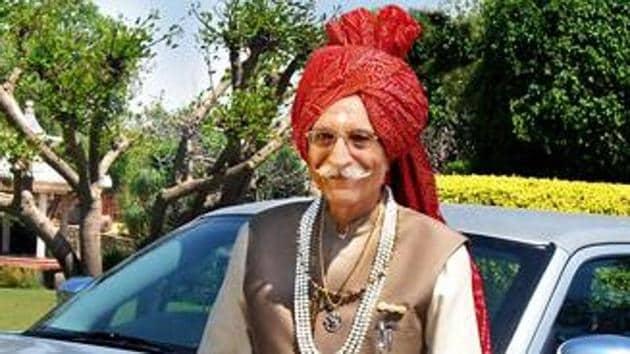 Mahashay Dharampal Gulati passed away on Thursday morning.(Twitter/ANI)