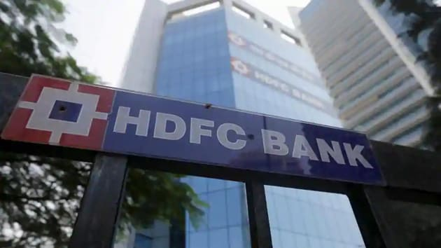 The headquarters of India's HDFC bank in Mumbai.(Reuters)