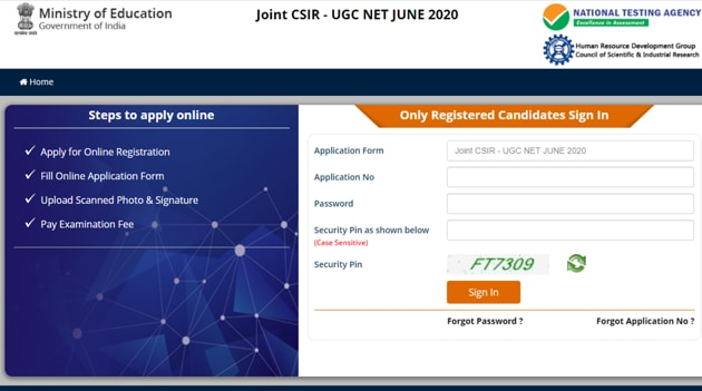 NTA CSIR UGC NET answer key 2020.(Screengrab)