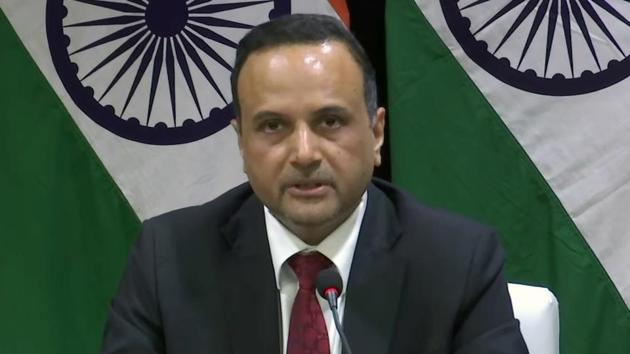 Ministry of External Affairs (MEA) spokesperson Anurag Srivastava said Pakistan is trying to link the case of Kulbhuashan Jadhav with another prisoner's case.(ANI Photo)