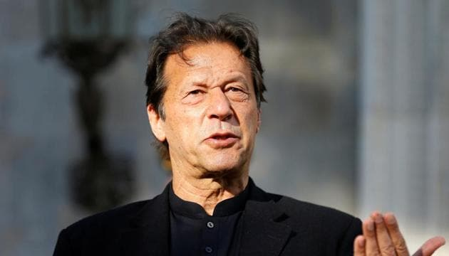 Pakistan's Prime Minister Imran Khan speaks during a news conference.(Reuters/ File photo)