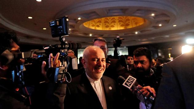 Addressing a Rome conference via video-link, Javad Zarif said the so-called Joint Comprehensive Plan of Action (JCPOA) could not be renegotiated but it could be resurrected.(REUTERS)
