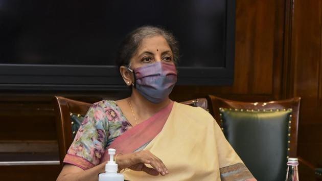 Union finance minister Nirmala Sitharaman.(File photo)