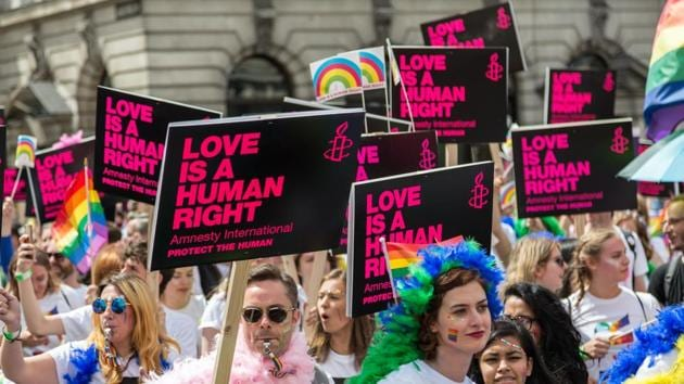 """Poland's ruling nationalist Law and Justice (PiS) party made battling what it calls """"LGBT ideology"""" a key plank of election campaigns in 2019 and 2020 in a bid to rally core religious conservative voters.(Unsplash)"""