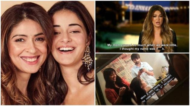 Ananya Panday made multiple appearances on Fabulous Lives of Bollywood Wives.