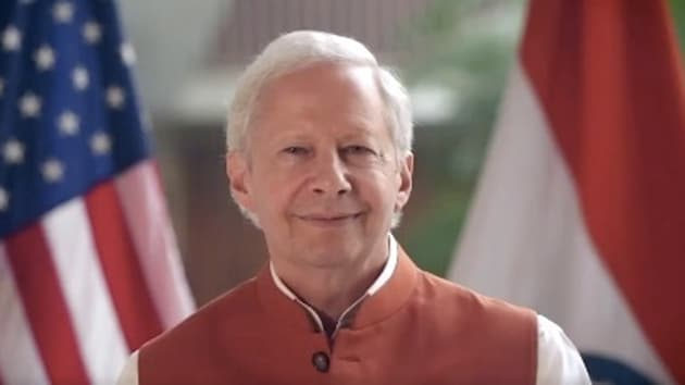 US Ambassador to India Kenneth Juster has extended greetings to the Indian Navy on Navy Day and expressed gratitude for hosting Malabar Exercise(Twitter)
