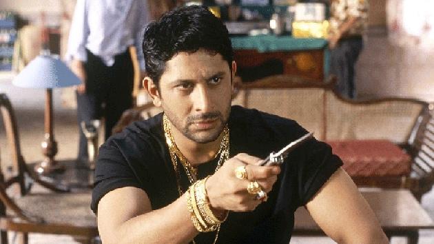 Arshad Warsi in a still from Lage Raho Munna Bhai.