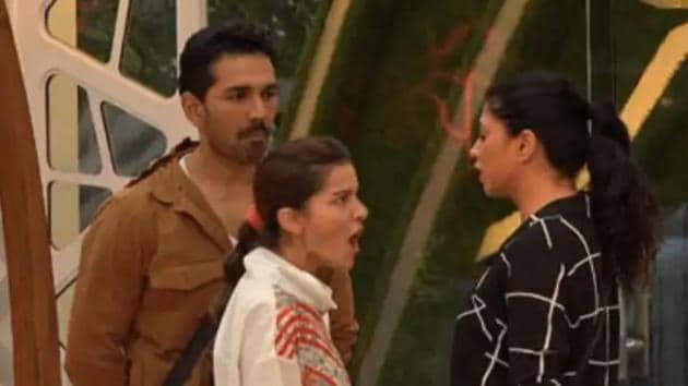 Kavita Kaushik had a face-off with Rubina Dilaik and Abhinav Shukla before leaving Bigg Boss 14 house.