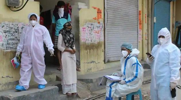 In November, when Delhi battled a severe rise in Covid-19 cases and deaths, about four to five staffers of mohalla clinics had tested positive for Covid-19. The numbers are the same at any given time, officials said.(File photo for representation)