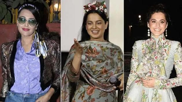 Swara Bhasker and Taapsee Pannu reacted to the charge that it took a Punjabi actor to respond to Kangana Ranaut.