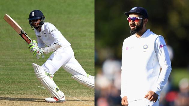 Haseeb Hameed (L) and Virat Kohli(Getty Images)